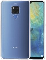 Magnetic Back Cover voor Huawei Mate 20 X Zilver - Transparant