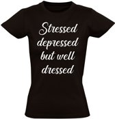 But well dressed dames t-shirt    grappig   cadeautip   funny   maat S