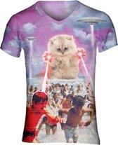 Fluffball the destroyer festival shirt Maat: M