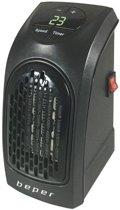 Beper Italia  RI.201 - Pocket heater - Keramische kachel - zwart