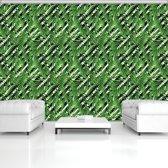 Fotobehang Vlies | Modern | Groen | 368x254cm (bxh)