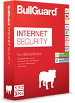 BullGuard Internet Security1Year3UsersMDLRetail