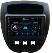 Navigatie radio Citroen C1 Peugeot 107 Toyota Aygo, Android 8.1, 7 inch scherm,  GPS, Wifi, Mirror link, Bluetooth | Merk BG4U