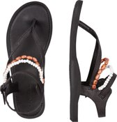 Slippers Fw batida beads - Black Out