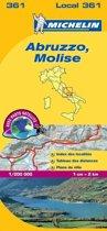 Abruzzo et molise 11361 carte ' local ' ( Italië ) michelin kaart