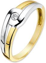 Sparkle14 Ring Zirkonia - Goud