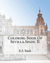 Coloring Book of Sevilla.Spain. II