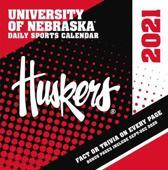 Nebraska Cornhuskers 2021 Box Calendar