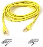 Belkin A3L791B10M - UTP Patch kabel - Cat.5e / 10 meter / Geel