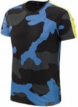 T-shirt Camo Blue