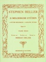 25 Melodische Etüden Opus 45 Piano Solo (Bewerkt door Herman Nieland)