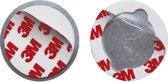 Smartwares RMAG3 Magnetische Montageset - 50 mm - Geschikt voor elke rookmelder en koolmonoxidemelder
