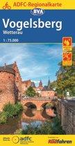 ADFC-Regionalkarte Vogelsberg Wetterau mit Tagestouren-Vorschlägen, 1:75.000