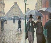 Gustave Caillebotte : Rue de Paris, Temps de Pluie (1877) Canvas Print