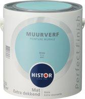 Histor Perfect Finish Muurverf Mat - 2,5 Liter - Bries