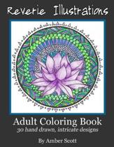 Adult Coloring Books: 30 Hand drawn intricate designs