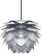 Umage Silvia hanglamp zilver - Mini Ø 32 cm + Koordset zwart