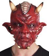 6 stuks: Masker Duivel DeLuxe - Latex