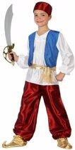 Arabische strijder Badir kostuum / outfit voor jongens 140 (10-12 jaar)