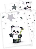 Baby Best Dekbedset Panda 100x135cm