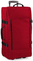 Bagbase Escape dubbellagige grote handbagagetas op wieltjes, Kleur Classic Red