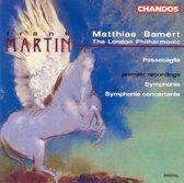 Martin: Symphonie, Symphonie Concertante etc / Bamert, LPO