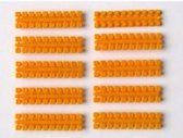 Ministeck 10 x 1 Kleurstrips - maisgeel