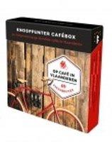 Boek cover Knooppunter Cafébox + Op café in Vlaanderen van Patrick Cornillie