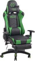 Clp Turbo XFM - Bureaustoel - Kunstleer - zwart/groen