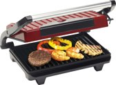 Bestron APG100R - Contactgrill - Rood