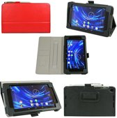 Javu - Google Nexus 7 2 (2013) - Wallet Cover Hoes Business Rood met Stylus