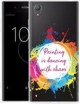 Sony Xperia XA1 Plus Hoesje Painting