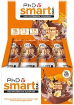 PhD - Smart Bar - Chocolate Peanut Butter (12x64g)