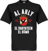 Al Ahly Established T-Shirt - Zwart - XL