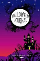 Halloween Journal: Halloween Spooky Castle Moon Zombies October Autumn Journal Notebook Diary College-Ruled