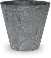 ARTSTONE Plantenbak CLAIRE - licht grijze steen-optiek - 43x43x39 cm