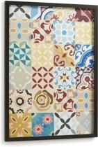 LaForma ALIAH Afbeelding 53x73cm - Frame Hout - Zwart
