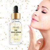 MELAO 24K Gold serum  99,9% puur goud vlokken - huidverzorging -  30 ml