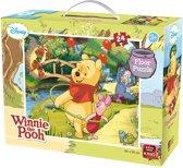 Disney Winnie the Poeh Vloerpuzzel (60 x 50 cm) - 24 Stukjes - Grote Puzzel