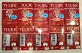 3x LUXE BOXERSHORTS TIGER - 3x ZWART MAAT  XL - 95% KATOEN 5% ELASTANE