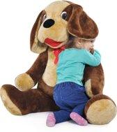 Grote knuffel - Hond 110cm