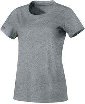 Jako Team Dames T-Shirt - Voetbalshirts  - grijs licht - 38