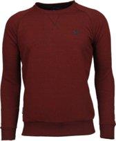 Local Fanatic Exclusief Basic - Sweater - Bordeaux - Maten: M