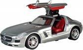 Racetin Mercedes Benz SLS-AMG - RC Auto - 1:28 - Zilver