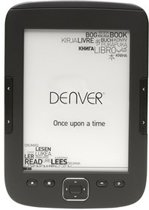 "Denver EBO-610L Ebook reader with 6"" E-INK panel & front light"