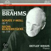 Sonate F-Moll Op5 & 6 Pianopieces O