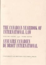 The Canadian Yearbook of International Law, Vol. 28, 1990
