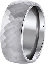 Lucardi - Stalen ring bewerkt