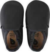 Bobux babyslofjes black loafer - Maat M