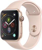 Apple Watch Series 4 - 44 mm - goud met roze bandje